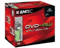 EMTEC D-RW41JC 4.7GB DVD-RW, D
