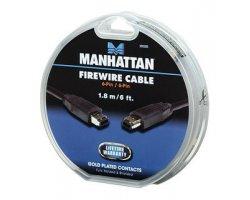 Manhattan FireWire 6-6 18BK-C,