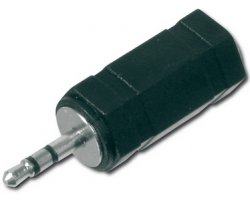 Stereo adapter 2,5mm-3,5mm