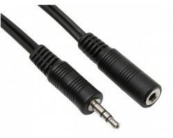 Audioforlængerkabel 3,5mm 10,0