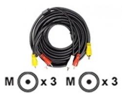 Stereo A/V kabel 5,0m