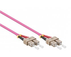 Fiberkabel SC-SC OM4 5,0m