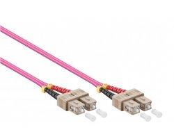Fiberkabel SC-SC OM4 10m,