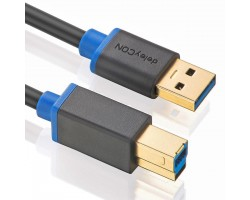 deleyCON USB 3.0 Cable - A/B -