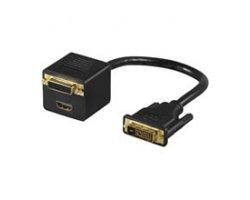 DVI-D Monitoradapter 0,20 mete