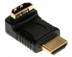 HDMI Adapter vinklet Op, HDMI