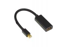 Mini DP - HDMI adapter sort, M