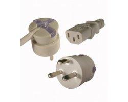 SmarTplug EDB-netkabel grå 1,8