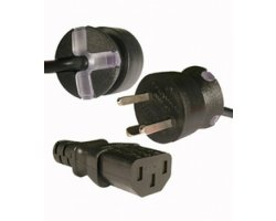 SmarTplug EDB-kabel sort 1,8m
