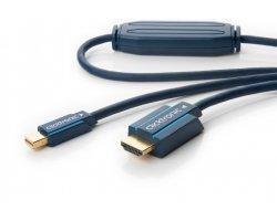 MiniDP:HDMI blå 2,0m