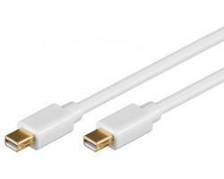 Mini Displayport 3,0 m, Hvid,
