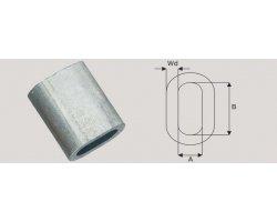 Aluminium Z-klemme 6,5 mm