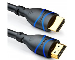 DeleyCON HDMI kabel 1,0m sort