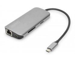 DIGITUS USB-C Hub, 8 port