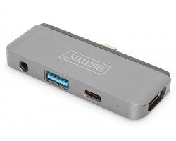 Digitus USB-C Mobile Dock, 4 p